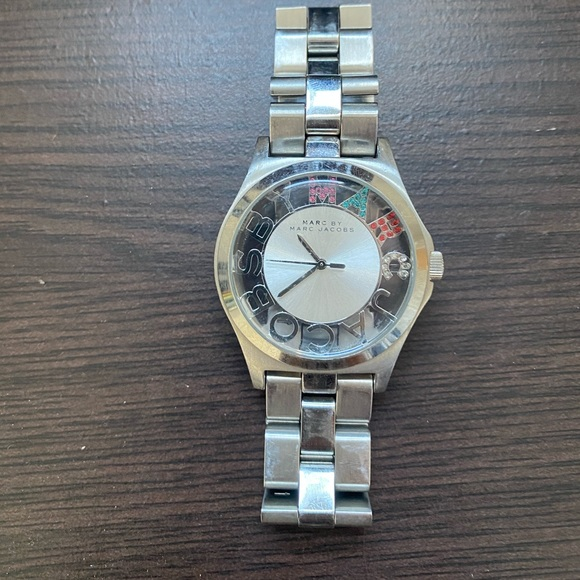 Oversize Marc Jacobs watch